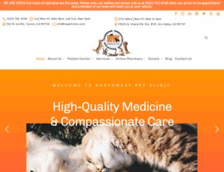 nwpetclinic.com screenshot