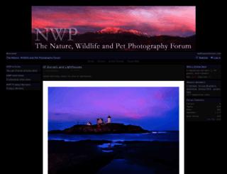 nwpphotoforum.com screenshot