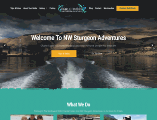 nwsturgeonadventures.com screenshot