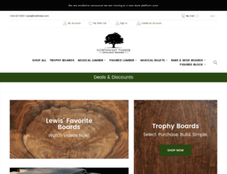 nwtimber.com screenshot
