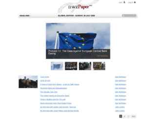 nwzpaper.com screenshot