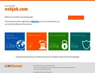 nxhjob.com screenshot