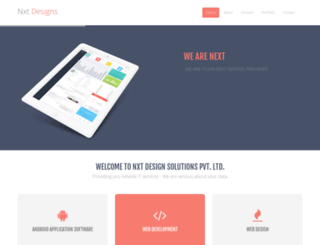 nxtdesigns.com screenshot