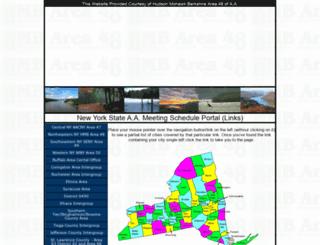 ny-aa.org screenshot