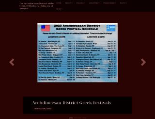 ny.goarch.org screenshot