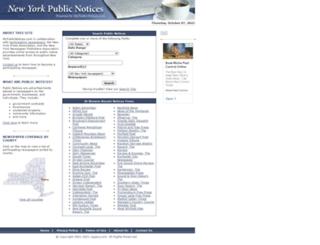 ny.mypublicnotices.com screenshot