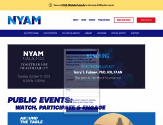 nyam.org screenshot