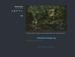 nyanamolibhikkhu.wordpress.com screenshot