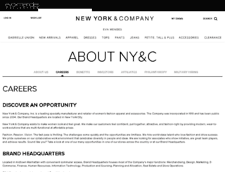 nyandcompanycareers.com screenshot