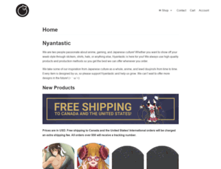 nyantastic.com screenshot