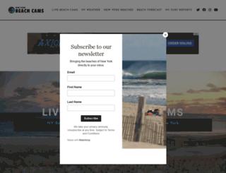 nybeachcams.com screenshot