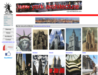 nyc-architecture.com screenshot