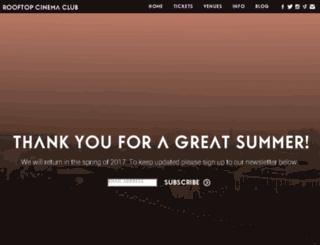 nyc.rooftopfilmclub.com screenshot