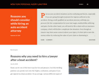 nycaccidentattorney.blogspot.com screenshot