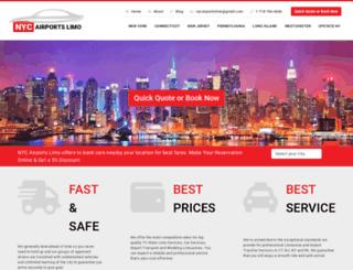 nycairportslimo.com screenshot