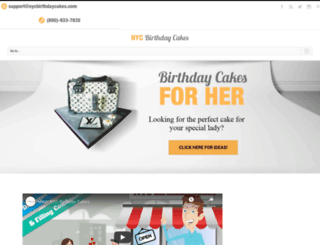nycbirthdaycakes.com screenshot
