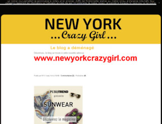 nyccrazygirl.com screenshot