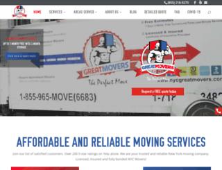 nycgreatmovers.com screenshot
