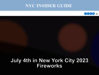 nycinsiderguide.com screenshot