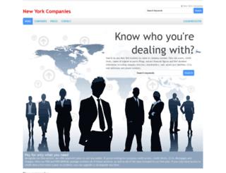 nycompaniesindex.com screenshot