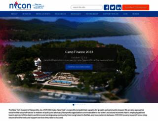 nycon.org screenshot