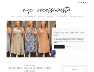 nycrecessionista.com screenshot