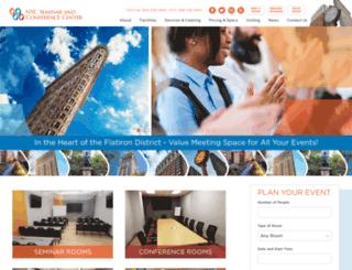 nycseminarcenter.com screenshot