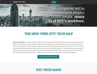 nyctechmap.com screenshot