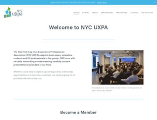 nycuxpa.org screenshot