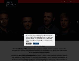 nyfdublin.com screenshot