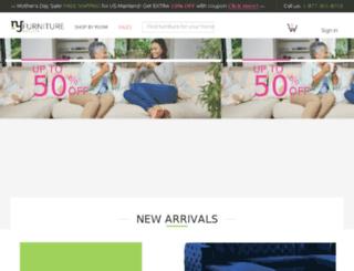 nyfurnitureoutlets.com screenshot