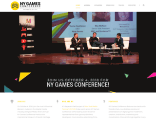 nygamesconference.com screenshot