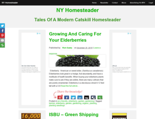 nyhomesteader.com screenshot