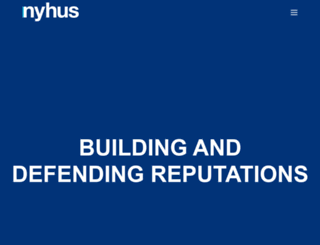 nyhus.com screenshot