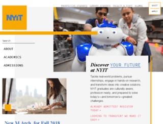 nyitconnect.nyit.edu screenshot