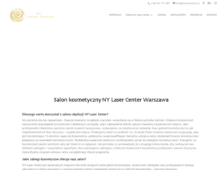 nylasercenter.pl screenshot