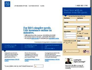 nylexpress.com screenshot