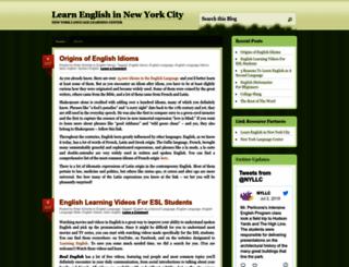 nyllc.wordpress.com screenshot