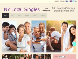 nylocalsingles.com screenshot