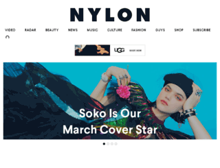 nylonmag.com screenshot