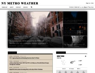 nymetroweather.com screenshot