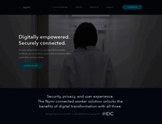 nymi.com screenshot