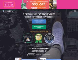 nyonair.com screenshot