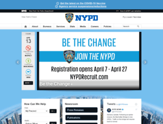nypdnews.com screenshot