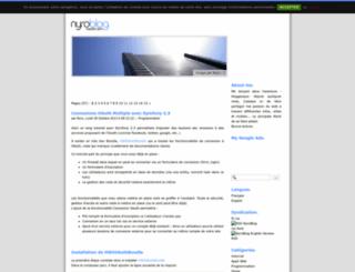 nyrodev.info screenshot