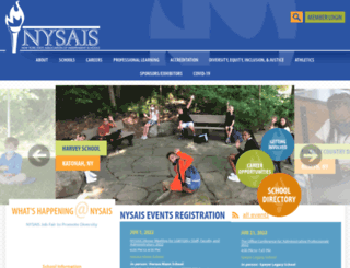 nysais.org screenshot
