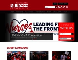 nysna.org screenshot