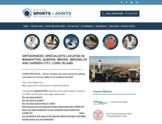 nysportsandjoints.com screenshot
