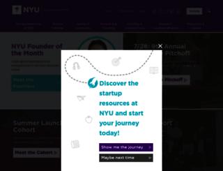 nyuentrepreneur.org screenshot
