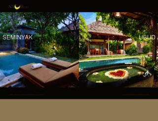 nyuhbalivillas.com screenshot